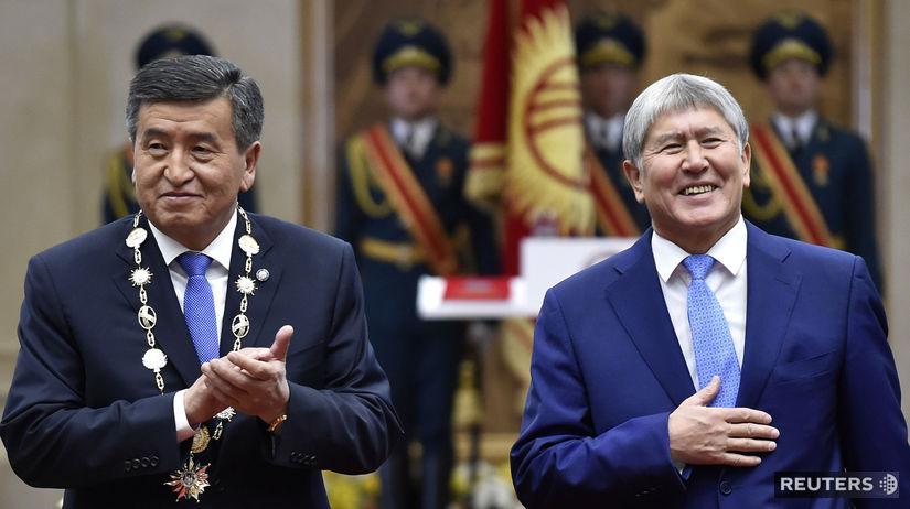 Sooronbaj Žeenbekov / Almazbek Atambajev /...