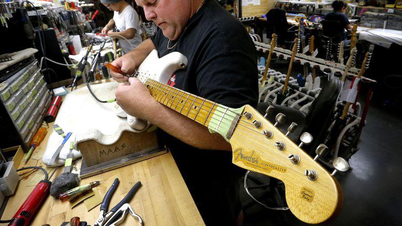 Stratocaster Leo Fender