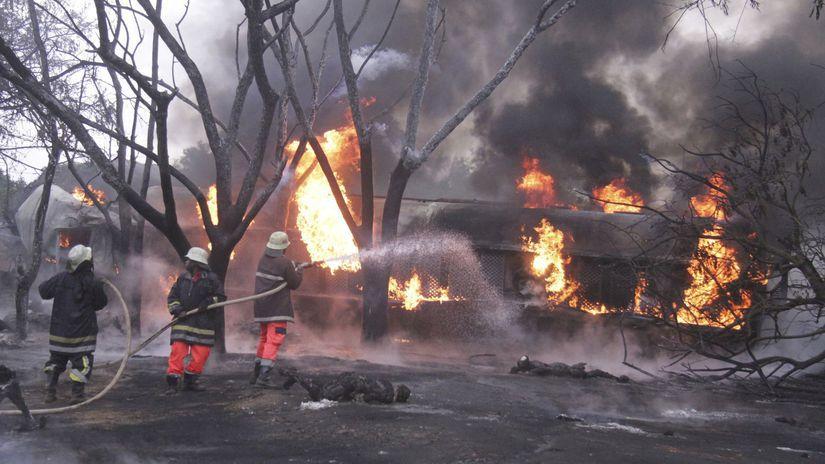 Tanzánia cisterna výbuch mŕtvi zranení