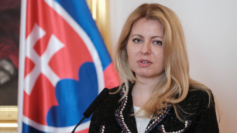 Zuzana Čaputová / Prezidentka SR /
