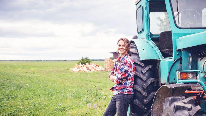 traktor, urbáre, hospodárstvo, farma,