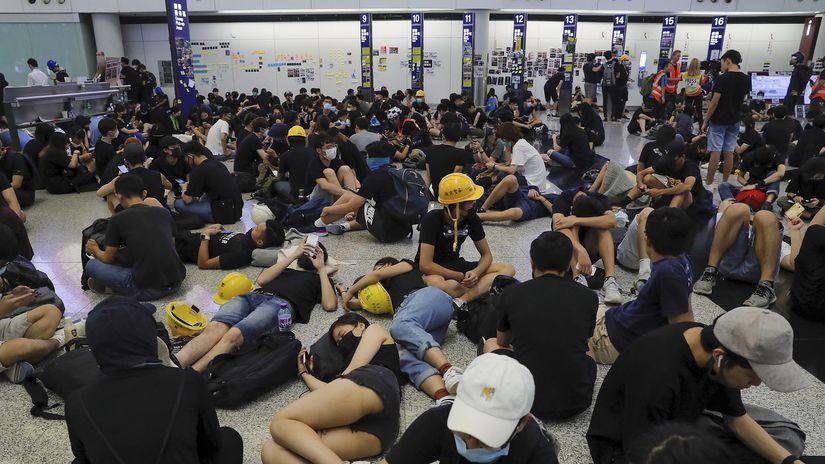 Hong Kong / Protesty /