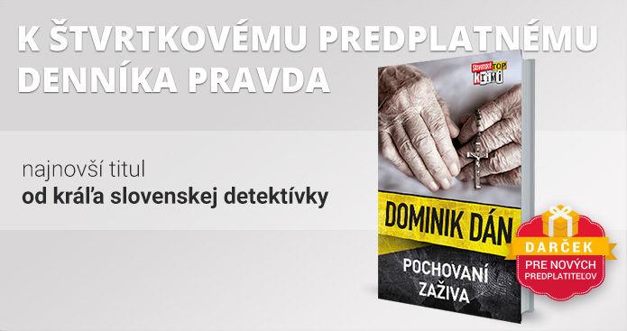 Štvrtkové predplatné s knihou Pochovaní zaživa