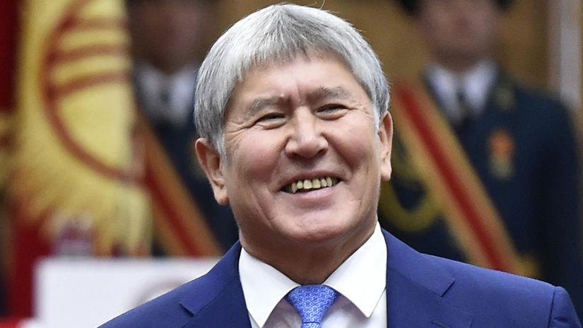 Almazbek Atambajev kirgizsko