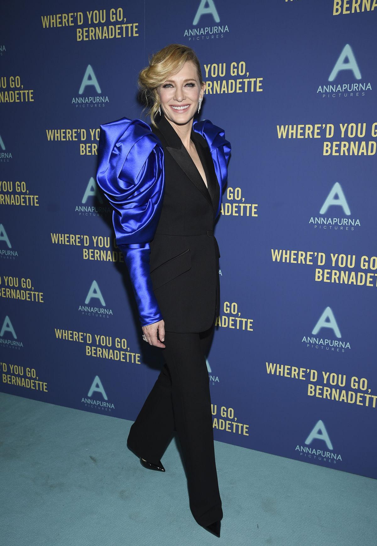 Cate Blanchett v kreácii Alexander McQueen