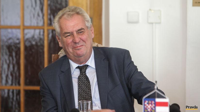 Miloš Zeman / prezident / ČR /