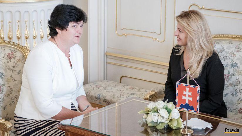Zuzana Čaputová, Mária Patakyová