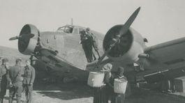 SNP, zostrelené maďarské lietadlo