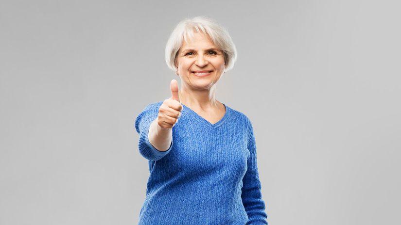 dôchodkyňa, dôchodok, penzia, seniori,