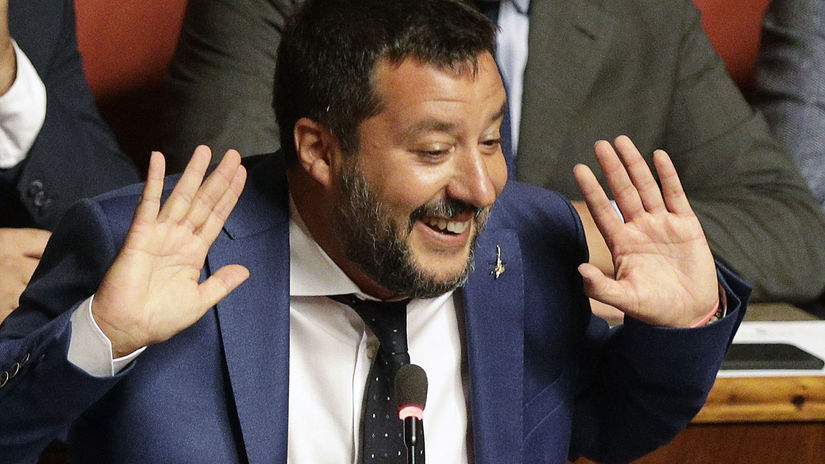 Taliansko /  Matteo Salvini /