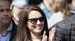V roku 2017 sa vojvodkyňa z Cambridge