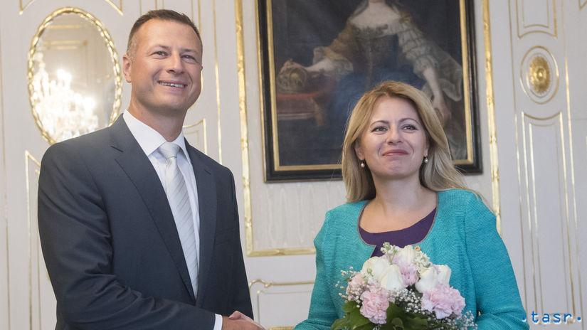 Zuzana Čaputová, Gábor Gál