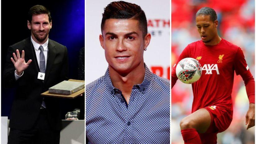 Ronaldo, Messi, van Dijk