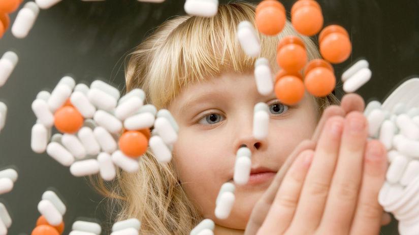 dieťa, tabletka, lieky, otrava