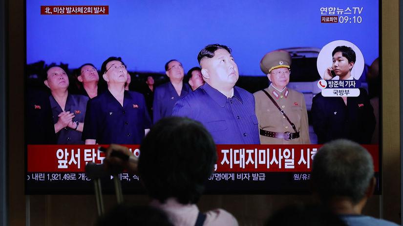 Južná Kórea / Severná Kórea / Kim Čong-un /