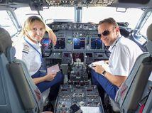 Slovenská kapitánka Boeingu 737 rada lieta na dovolenky