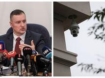 Pri obhliadke Šufliarskeho domu zachytila zločincov kamera