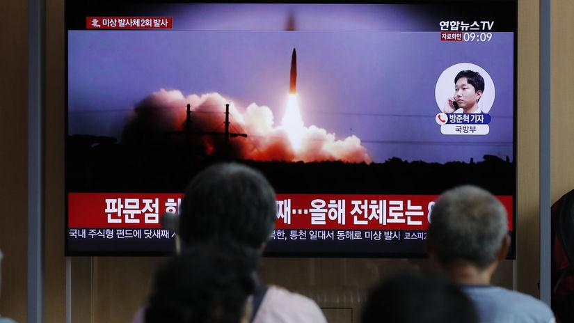 severná kórea, raketa, odpal, Seoul
