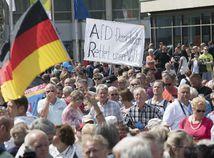 AfD rastie. Hlavne vo východnom Nemecku