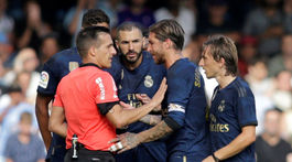 Real Madrid, protesty, Modrič