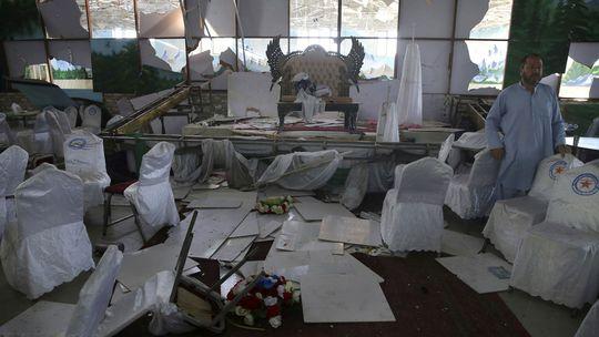 Afganistan , kábul, svadva, bombový útok