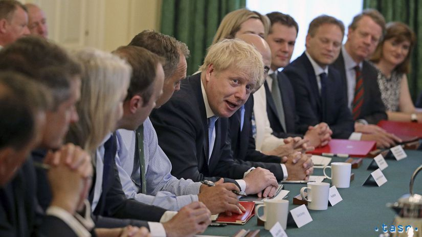 Británia boris johnson Londýn brexit vláda nová...