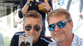 ZAK Kolegovia a možno už znovu aj kamaráti Andy Kraus (vľavo) a Peter marcin.