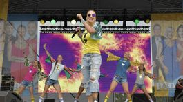 Speváčka Dara Rolins vystúpila aj v rámci hudobného programu.