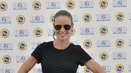 Herečka Nela Pocisková stavila na čiernu farbu.