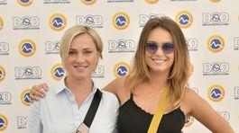 Herecké kolegyne Monika Hilmerová (vľavo) a Dominika Kavaschová.