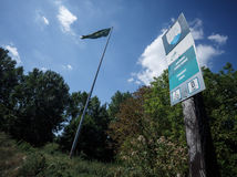 KDH vyvesilo na stožiar pri Pečnianskom lese kapitánsku výložku, Danko ďakuje