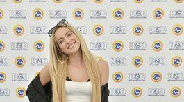 Speváčka Dominika Mirgová na DOD v televízii Markíza.