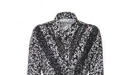 Vzorované šaty s dlhým rukávom a detailmi syntetickej čipky. Predáva Liu Jo, info o cene v predaji.