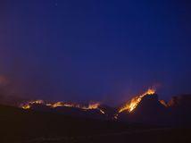 gran canaria požiar, oheň