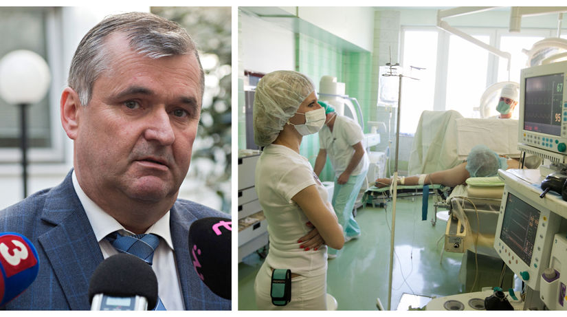 Marián Petko / nemocnice /