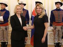 Nová veľvyslankyňa USA u Čaputovej. Zo Slovenska je nadšená. Pozrite si video