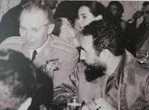 generál Martin Dzúr, Fidel Castro