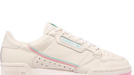 Kožené tenisky Adidas Originals, model Continental 80. Predávajú sa za 100 eur na stránke Net-a-porter.com.