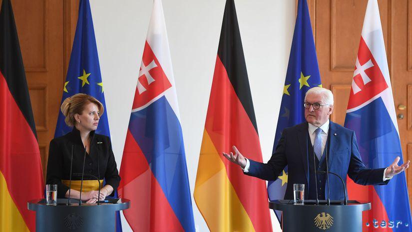 Zuzana Čaputová, Frank-Walter Steinmeier