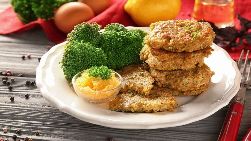 Brokolicové placky so syrom
