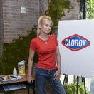 Herečka Anna Faris na akcii spoločnosti Clorox ku kampani Back-to-School Clean Spaces.