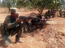 sýria, vojaci, zbraň