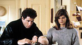 Herci John Travolta a Kirstie Alley na zábere z filmu Pozri sa, kto to hovorí.
