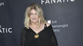Herečka Kirstie Alley na premiére projektu The Fanatic v Los Angeles.