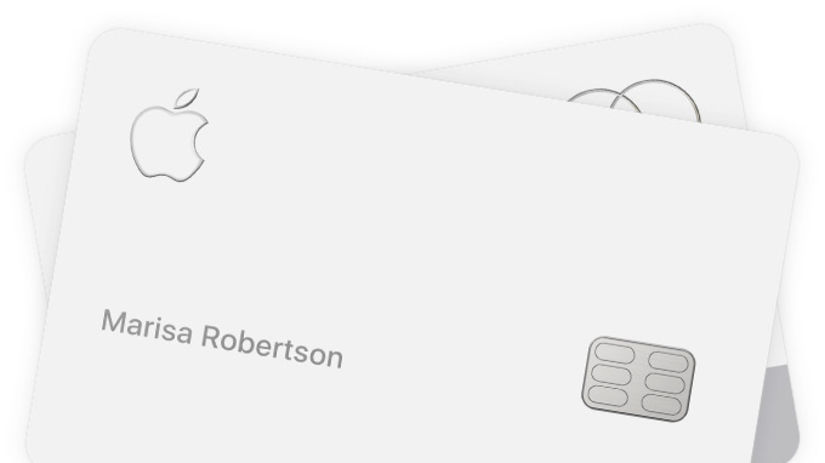 Apple Card, platobná karta, kreditka