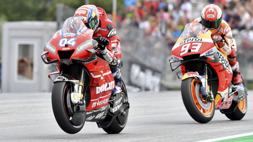 Rakúsko motorizmus MS VC MotoGP