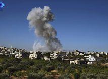 Syria výbuch dym