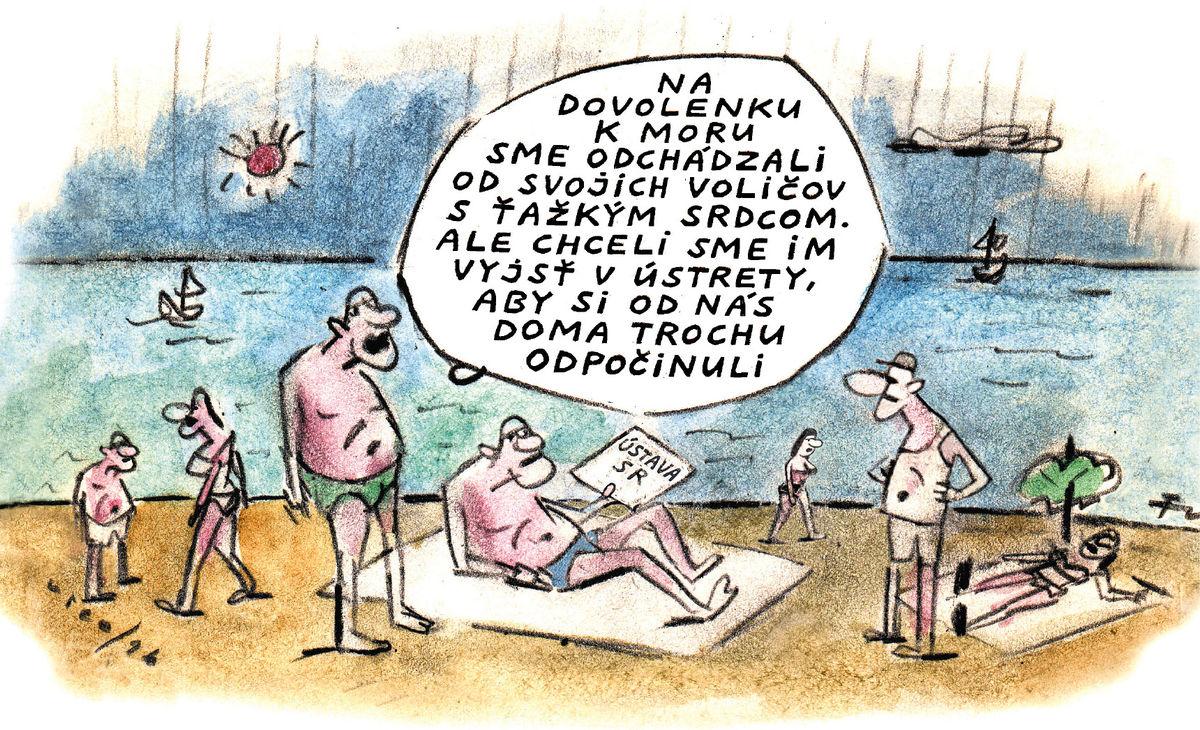 Karikatúra 26.08.2019