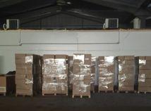 Michalovce NAKA zbrane drogy tabak krabice