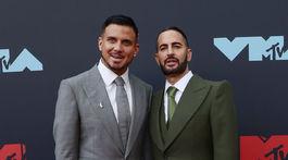 Na vyhlásenie cien MTV VMA 2019 prišli aj manželia Char Defrancesco a Marc Jacobs.